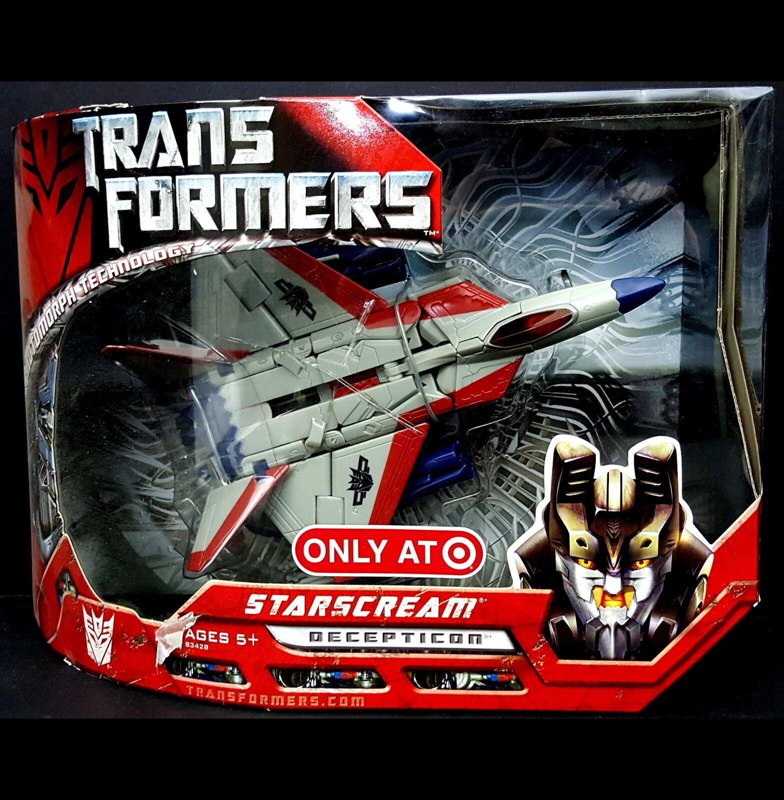NEW Transformers G1 Voyager Starscream Decepticon 83428 SEALED Target Exclu 2007