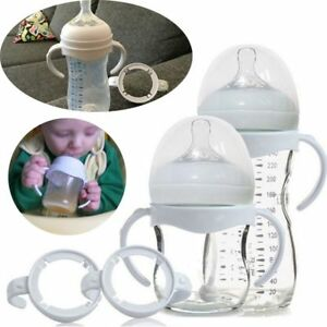 Bottle Grip Handle for Avent Natural Wide Mouth Feeding Bottle Accessories 2Pcs