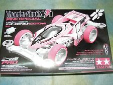 Tamiya 1/32 mini 4WD Thunder Shot Mk.II pink Special Battery Model Car Kit 94660