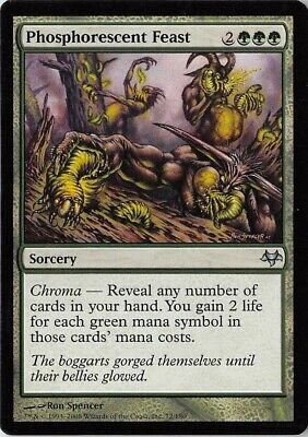 Bloodied Ghost *PLAYSET* Magic MtG x4 Eventide SP
