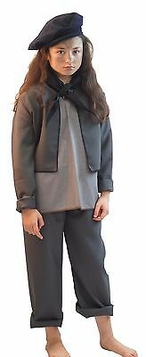 Victorian/Edwardian/Mary Poppins CHIMNEY SWEEP fancy dress outfit all ages