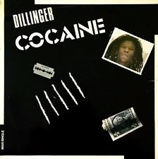 """DILLINGER - Cocaine (12"""") (White Vinyl) (VG+/G)"""