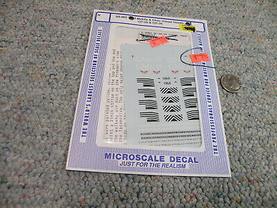 Black Scheme Microscale Decal N  #60-4009 Union Pacific Diesel Switcher