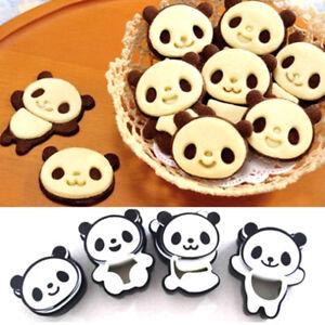 4-stampi-Panda-stampo-forma-formine-stampino-biscotti-dolci-torte-cake-design