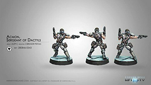 Infinity Aleph Acmon Sgt of Dactyls w//2 Breaker Pistols