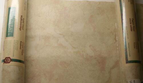 WALLQUEST SOLID VINYL BEIGE WALLPAPER PATTERN # TS23301