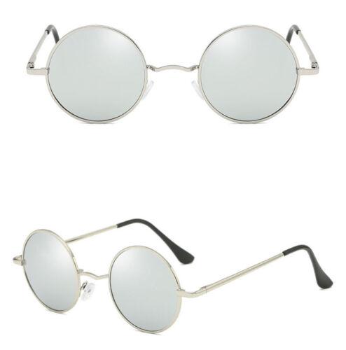 Men Women Polarized Retro Round Driving Sunglasses Eyewear Travel Fishing Mirror