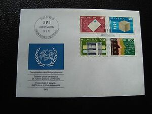 Switzerland-Envelope-1er-Day-16-9-1976-cy90-Switzerland