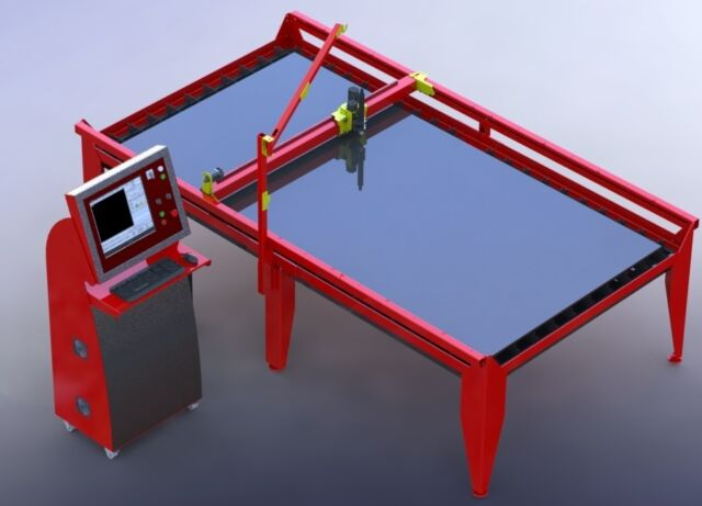 Diy Plans For Cnc Plasma Table 1500 X 3000 Mm With Water Tray