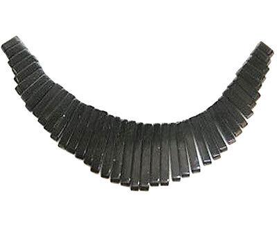 Blackstone Graduated Collar, Cleopatra, Egyptian Fan 41 Piece Bead Set