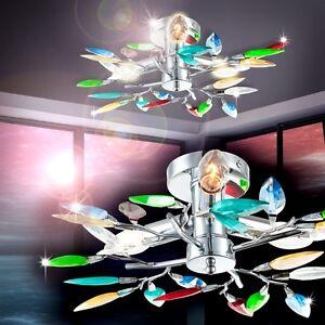 Plafonnier-moderne-Lampe-a-suspension-Lampe-de-sejour-multicolore-Lustre-130913
