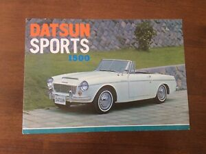 DATSUN-SPORTS-1500-RARE-VINTAGE-SALES-BROCHURE-1963-64