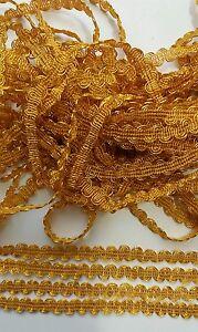 2-METER-Gold-Spitze-1cm-breit-Borte-Eroeffnungspreis