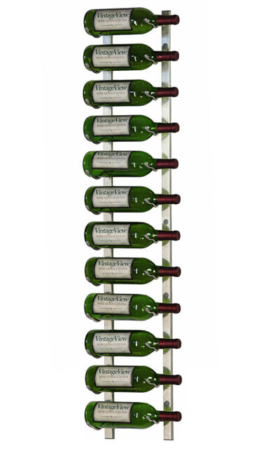 Vintageview Ws41 P 12 Bottle Wall Mounted Metal Hanging Wine Rack