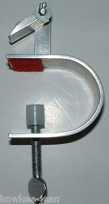 see pics rug-making tool .. Braid-aid klamp table clamp for braiding rugs