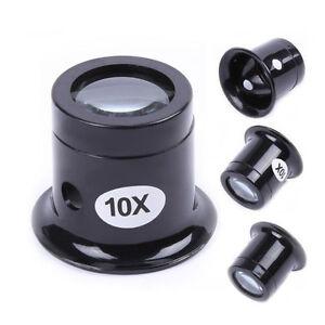 10X-Watch-Repair-Lupe-Glas-Lupe-Vergroesserung-optische-Schleife-1PC-P2P6