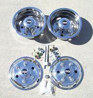16 Isuzu Npr 6 Lug Dually Wheel Covers