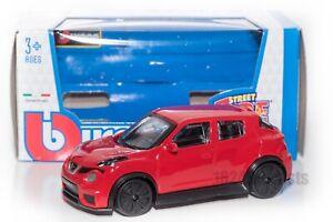 Nissan-JUKE-R-Rojo-Bburago-18-30136-escala-1-43-coche-de-juguete-modelo-de-Regalo-Nino