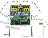 Lions Drag Strip T Shirt 65 66 Corvette Vintage Racing Tee Sz M L Xl 2xl 3xl