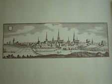 Merian edad clave: ciudad comida-formato, 1652, 30 x 43-vista lateral comida