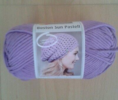 Fb 1 lila//pastellrosa//schwarz 50 g Lana Grossa Piuma Wolle Kreativ
