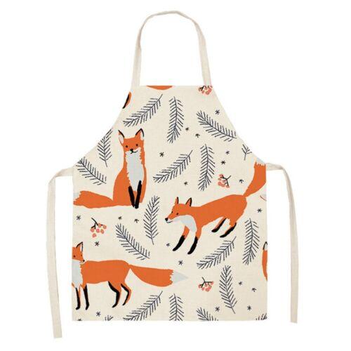 Fuchs Katze Schürze Kochschürze Latzschürze Küchenschürze Grillschürze Kinder