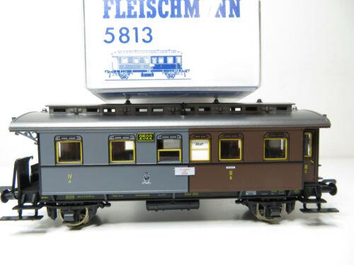Kl 216HO //08 Fleischmann 5813 KPEV top in OVP Personenwagen 3.//4