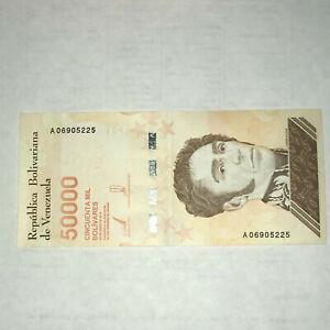 January-2019-Venezuela-50000-Bolivares-Soberanos