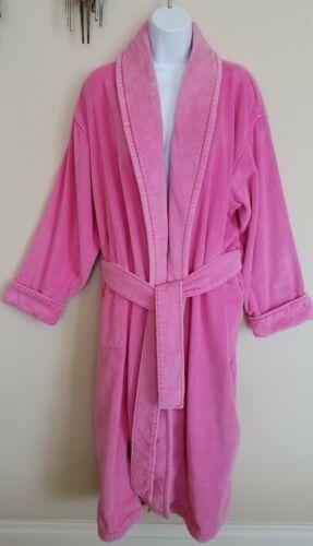 Victoria's Secret Robe Plush Pink Turkish Terry Co