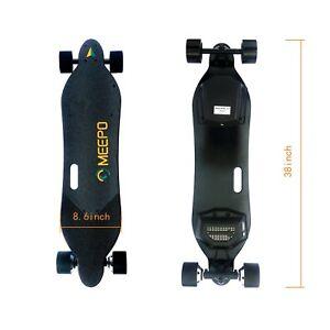 Meepo Electric Skateboard\/Longboard V2 PLUS RANGE Dual Motor 40km\/h  25MPH  eBay