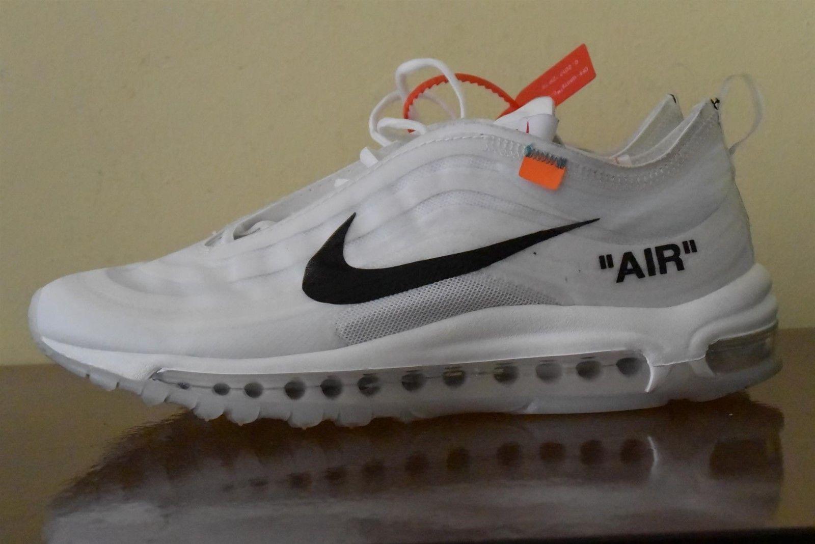 Nike Air Max 97 OG OFF-WHITE AJ4585-100 Sz 10