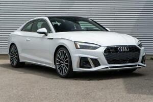 2020 Audi A5 2.0T Progressiv quattro 7sp S Tronic Cpe