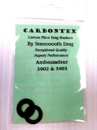 Carbontex Drag Washers Abu Garcia Ambassadeur Abu Part 3902 /& 3903 some 1960/'s