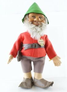 Pucki-Gnome-Elf-Troll-Original-With-All-Buttons-And-Tags-730-3-12-Vintage-1950s