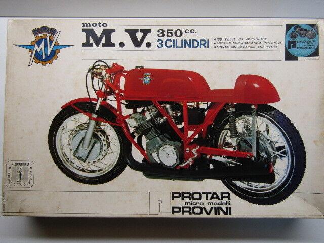 Predar Vintage 1 9 Scale MV Agusta 350cc 3 Cilindri - Giacomo Ago New - Kit