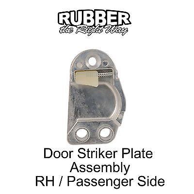 1959 1960 Edsel Door Striker Plate Assembly LH