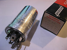 Electrolytic Capacitor 100uF 10uF 20uF Conbro TP-419 4 Section - NOS Qty 1
