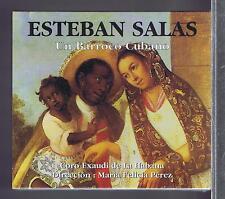 ESTEBAN SALAS CD NEW CUBAN BAROQUE MARIA FELICIA PEREZ