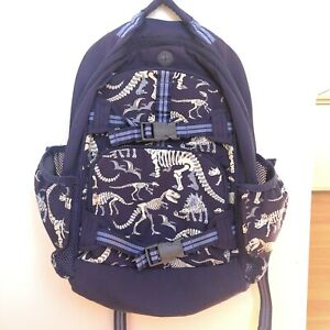 Pottery Barn Blue Amp Purple Dinosaur Fossil Backpack Large