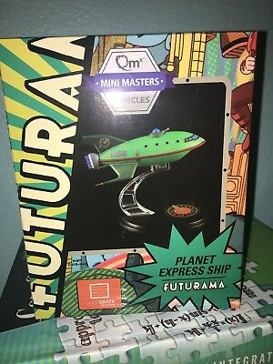 LootCrate July 2016 Futurama Planet Express Ship Model Q-Fig from QMX by QMX ...