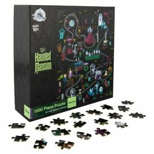 Disney-Parks-The-Haunted-Mansion-Jigsaw-Puzzle-1000-Pieces-New-in-Box