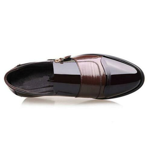 Men Formal Wedding Oxfords Casual Leather Shoes Pointed Toe Dress Shoes Big Size