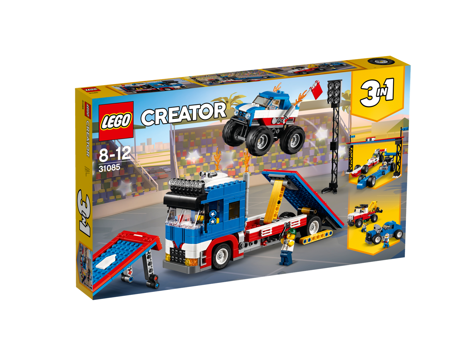LEGO® Creator 31085 Stunt-Truck-Transporter NEU OVP_ Mobile Stunt Show NEW MISB