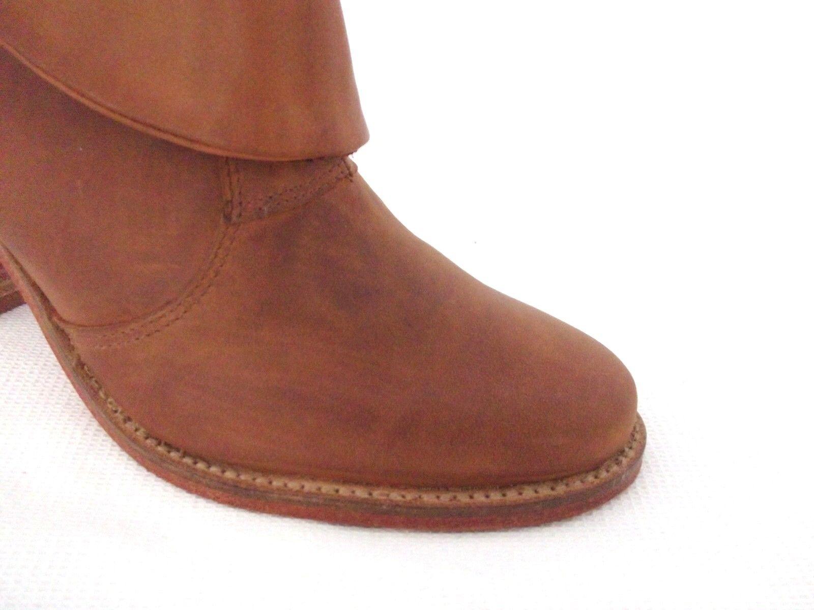 J UK Schuhe LADIES BROWN-TAN DESTRESSED LEATHER ANKLE Stiefel DamenschuheS UK J 4 - EUR 37 1d107b