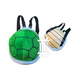 Image is loading SUPER-MARIO-KOOPA-backpack-shell-PLUSH-cosplay-turtle- a0227bea50f61