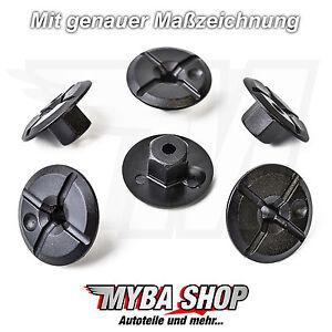 5x-PLASTICA-DADO-clip-di-fissaggio-per-MERCEDES-BMW-51711958025-a2019900050