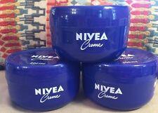 3- Nivea Creme 400ml -6.8 Fl Oz. Jar Moisturizing All Over Thick Cream
