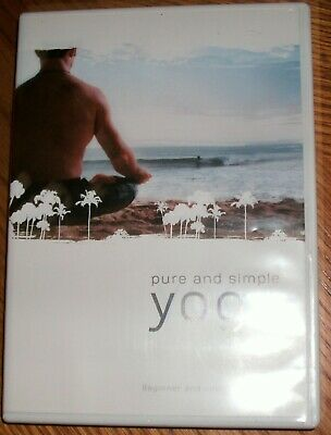pure and simple yoga with eon finn  dvd  mint cond