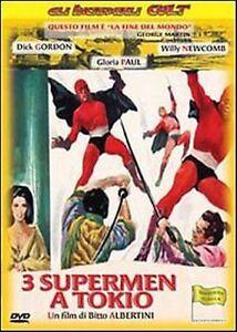 Tre-supermen-a-Tokio-DVD-Nuovo-Sigillato-Bitto-Albertini-3-Supermen-DVD