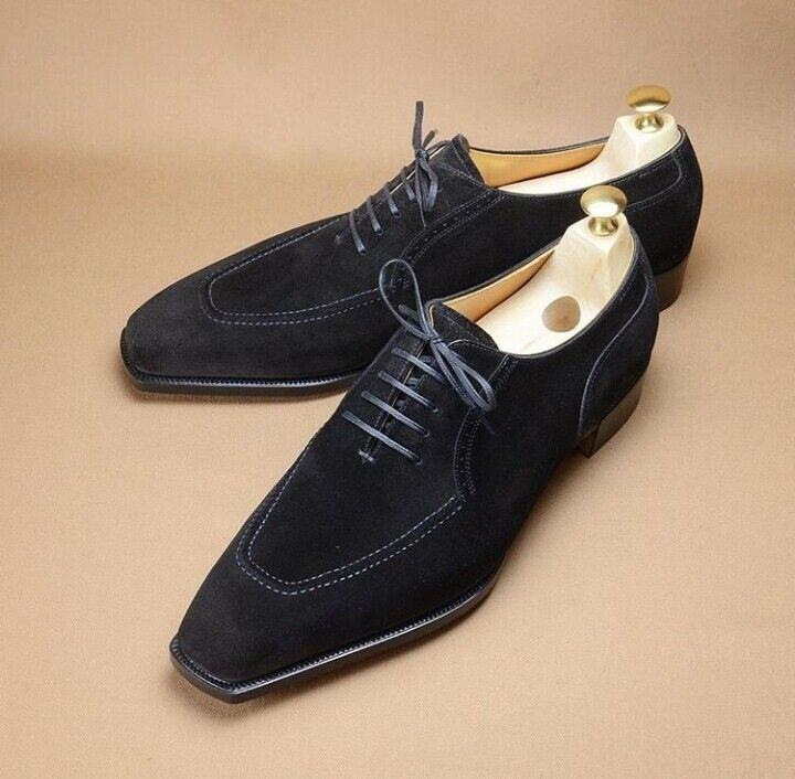 Handmade scarpe scarpe scarpe maker men nero suede scarpe men suede formal scarpe Men dress scarpe 74f901
